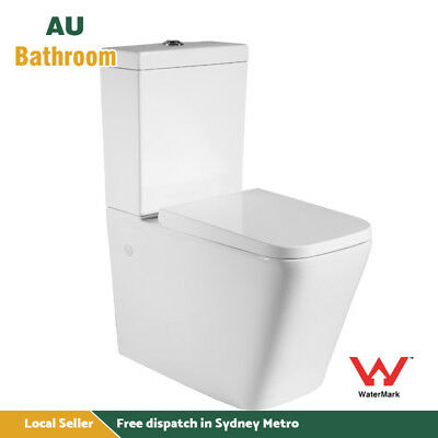 Toilet Suite Ceramic Back To Wall Wash Down P Or S Trap Soft Close Seat Sydney