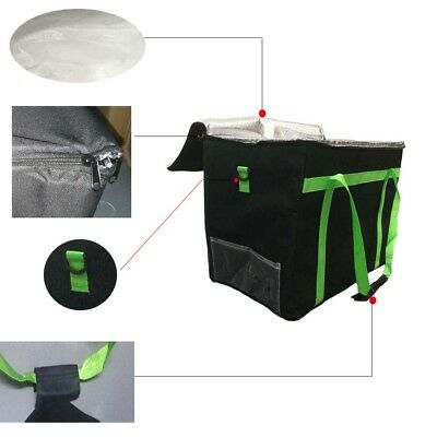 HOT Insulated Strong Food Delivery Bag for Takeaway Kebab Indian Chinese Pizza