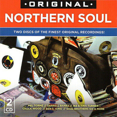 Various Artists : Original Northern Soul CD 2 discs (2015) Fast and FREE P & P