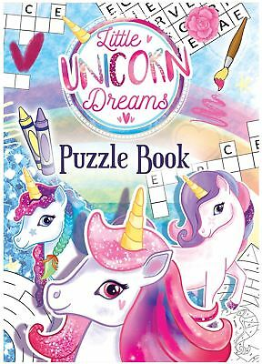 Unicorn Puzzle Books Childrens Party Bag Fillers Girls Birthday Magical Game