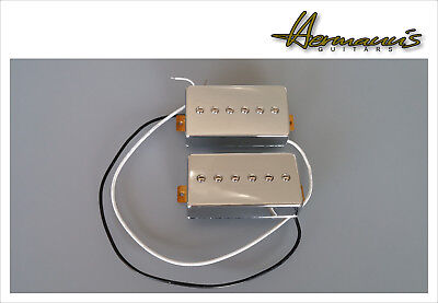 Vintage 60s Alnico V P 90 Pick Up Set im Humbucker Format, Handgewickelt  -TOP-