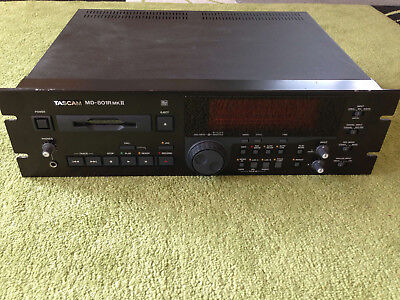 TASCAM MD-801 RMK2 Professional MD MiniDisc Player Recorder