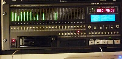Mackie MDR 24/96 MultiTrack Recorder with Upgrade to HDR 24/96
