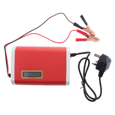 Automatic Electric Car Battery Charger 6A 12V Intelligent Pulse 20AH-80AH