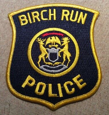 MI Birch Run Michigan Police Patch