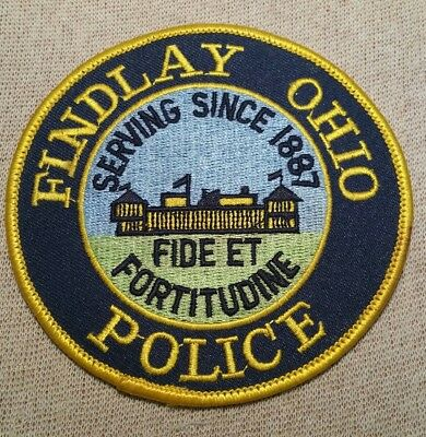 OH Findlay Ohio Police Patch