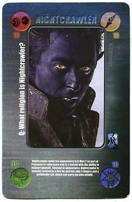Nightcrawler X-Men The Last Stand Battle Cards 2006 Daily Mail CCG Card (C1406)