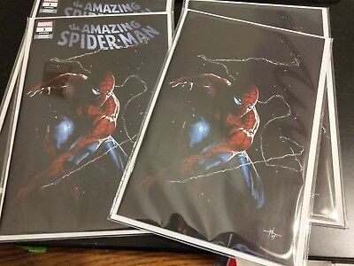 AMAZING SPIDERMAN 1 vol 5 2018 IGC GABRIELLE DELL OTTO VIRGIN VARIANT 2 PACK SET