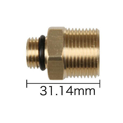 M22/14 to G1/4 SNOW Foam Lance Connector Pressure Washer Adapter Brass