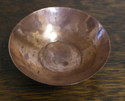 antique pair of copper arts and crafts small BOWL