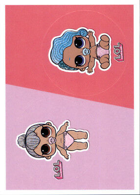 Sticker n PANINI-L.o.l Surprise! 140 140a+140b