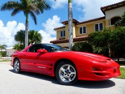 1998 Pontiac Trans Am  ONLY 44k Miles Clean CARFAX FL Owned Excellent Condition!!!!!