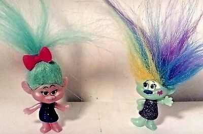 trolls mini figures X2 series 6