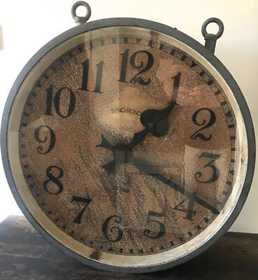 Double Sided Industrial Synchronome Clock