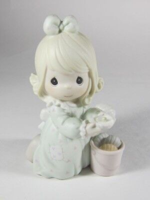 Enesco Precious Moments - It is No Secret What God Can Do - No box