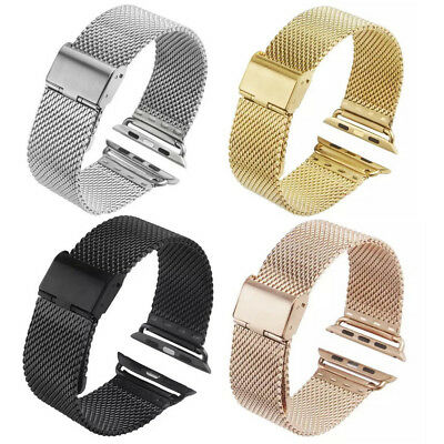 Stainless Steel Metal Band Strap Bracelet For Apple Watch Series 3 2 1 38mm/42mm