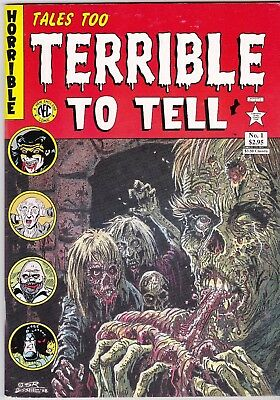 Tales Too Terrible To Tell 1 Pre-Code Horror Comics Reprints The Tick Nec Claw