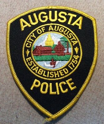ME Augusta Maine Police Patch