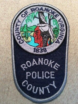 VA Roanoke County Virginia Sheriff Patch
