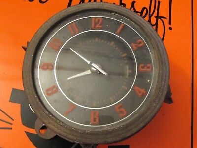 Vintage Car Clock * Ford * New Haven Clock Co.. *1947 Ford*