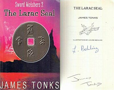 The Larac Seal (Sword Watchers 2) by Tonks, James E.G. Paperback Book The Cheap