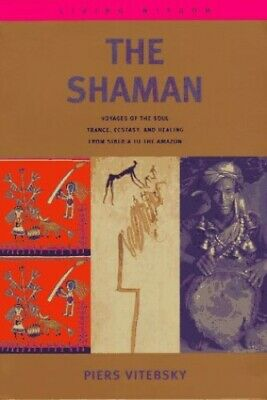 The shaman by Vitebsky, Piers Hardback Book The Cheap Fast Free Post