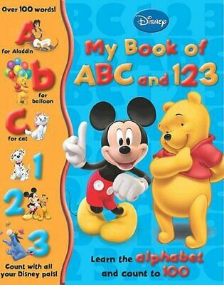 Disney Learning: My First Disney ABC and 123 (My First Dis... by Disney Hardback