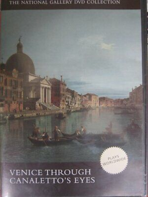 Venice Through Canaletto's Eyes DVD by NationalGallery Book The Cheap Fast Free