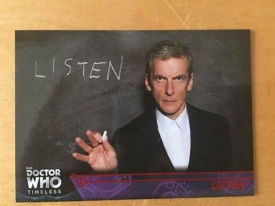 2016 Topps Doctor Who Timeless Red Foil Parallel 24/25 Listen card 95