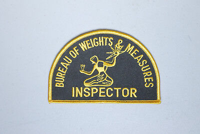 Detroit Weights & Measures Inspector MI Michigan Police Patch
