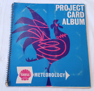 Complete - Shell - Project Card Album - Meteorology - Vintage Trading Cards