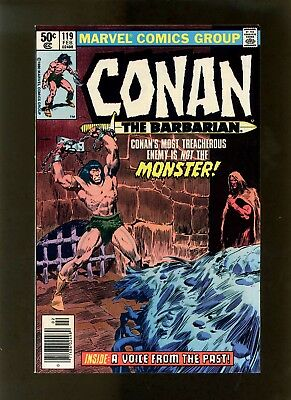 Conan the Barbarian #119 (Newsstand) VF- (Looks Better) Buscema, McLeod, Sean
