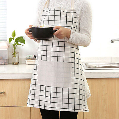 Men Cooking Restaurant Kitchen Apron Chef Bib With Bag