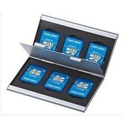 Holder Micro  Memory Card  Protecter Storage Case Cover Aluminum Alloy Box