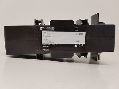 Merlin Gerin (Schneider) 16543 current transformer 2500/5A for busbar 38x127mm