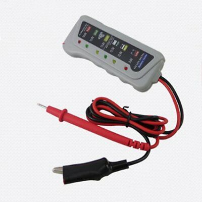 Digital Battery Tester Charging System Analyzer With LED Display For 12V Cars TP