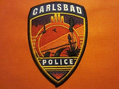 Collectible New Mexico Police Patch,Carlsbad, New