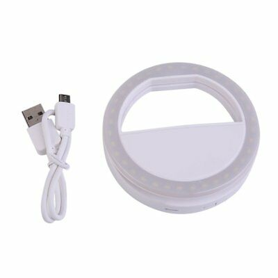 Smart Phone Fill Light Rechargeable Clip-On Luminous Phone Ring For Iphone TOP