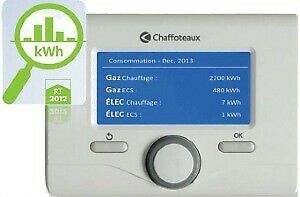CHAFFOTEAUX Expert Control Thermostat d'Ambiance Modulant Filaire