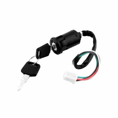 Universal Motorcycle Scooter 4 Pin Ignition Switch With Key Suitable For Honda@#