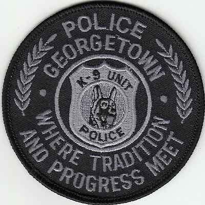 Georgetown K-9 Unit Subdued Police Patch Kentucky Ky Canine Dog K9