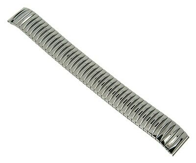 Minott Watch Band Stainless Steel Silver High Gloss Strap - 28288