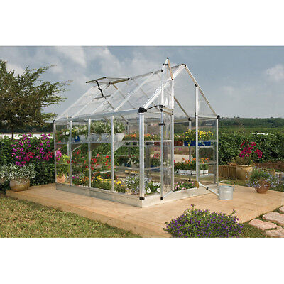 Palram Silver Snap and Grow 6ft. x 8ft. Greenhouse