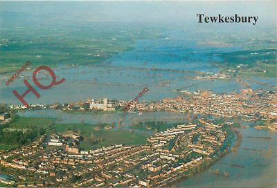Picture Postcard::Tewkesbury Floods In 1990