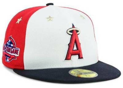 wholesale dealer 9c03b 03493 Official MLB 2018 All Star Game Los Angeles Angels New Era 59FIFTY Fitted  Hat