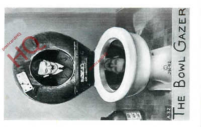 Picture Postcard; Adolf Hitler, The Bowl Gazer, Toilet