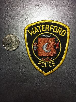 Waterford Michigan Police Department Patch Mi Small Size