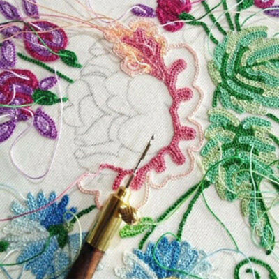 Sequins  Neddle Embroidery Needles Tambour Household Home Embroidery