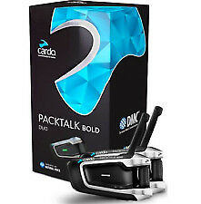 Cardo Scala Rider Packtalk Bold Duo Helmet Communication System Dual Unit
