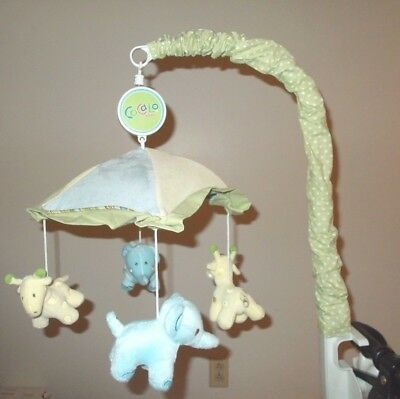 Cocalo Oasis Baby Musical Mobile Jungle Giraffe Elephant